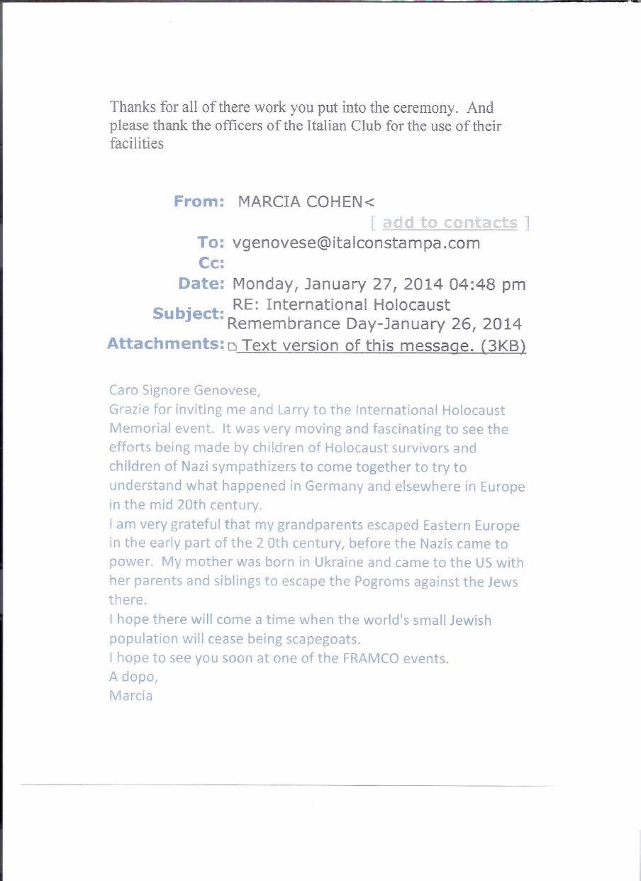 HC 2014 Guest Comments