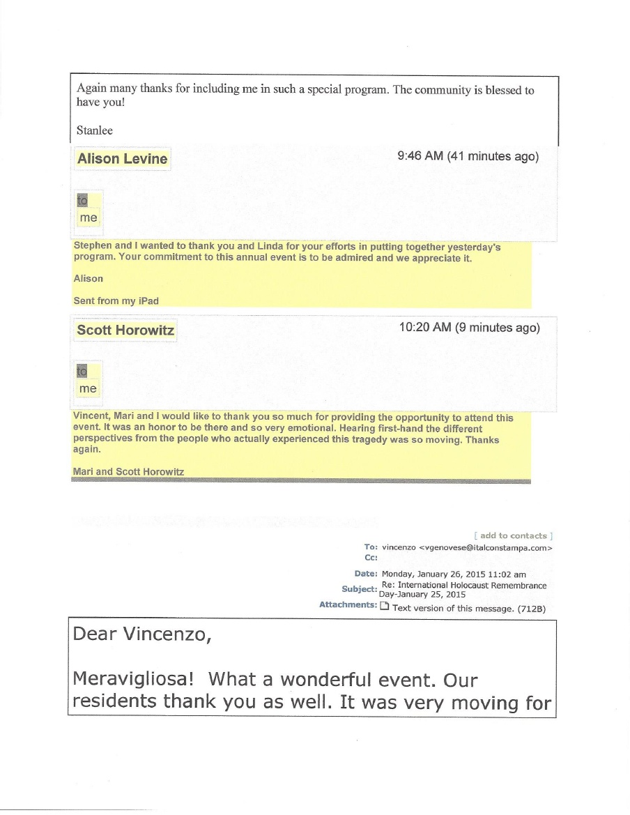 HC 2015 Guest Comments