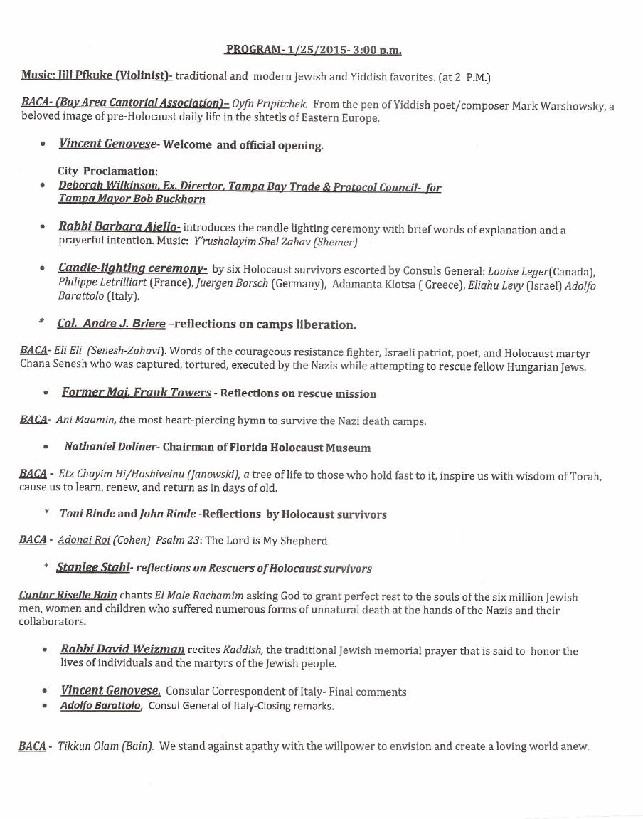 HC 2015 Program