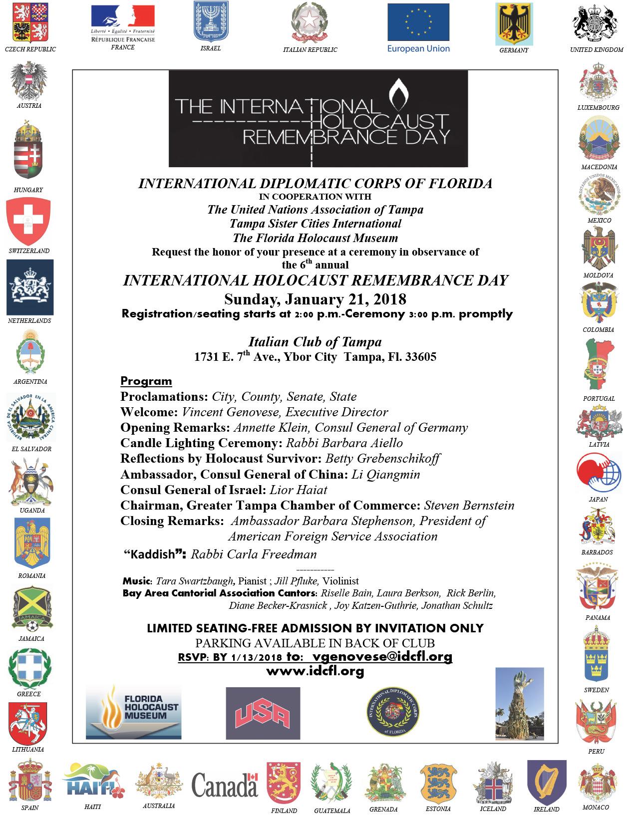 HOLOCAUST INVITE FLYER 2018